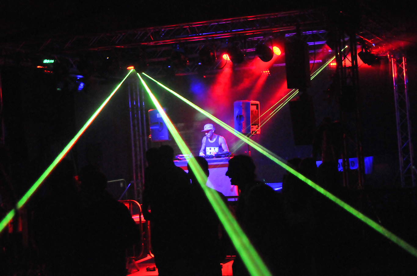 Stage Lighting for DJ Event