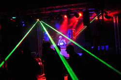 Stage Lighting for DJ Event