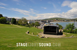 Trailer Stage Hire, Swanage