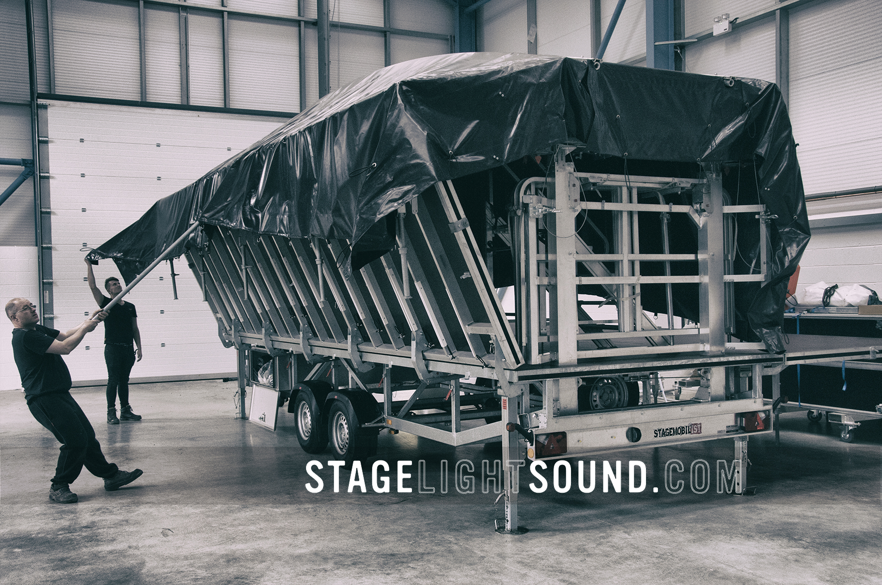 Stagemobil LR Trailer Stage Hire