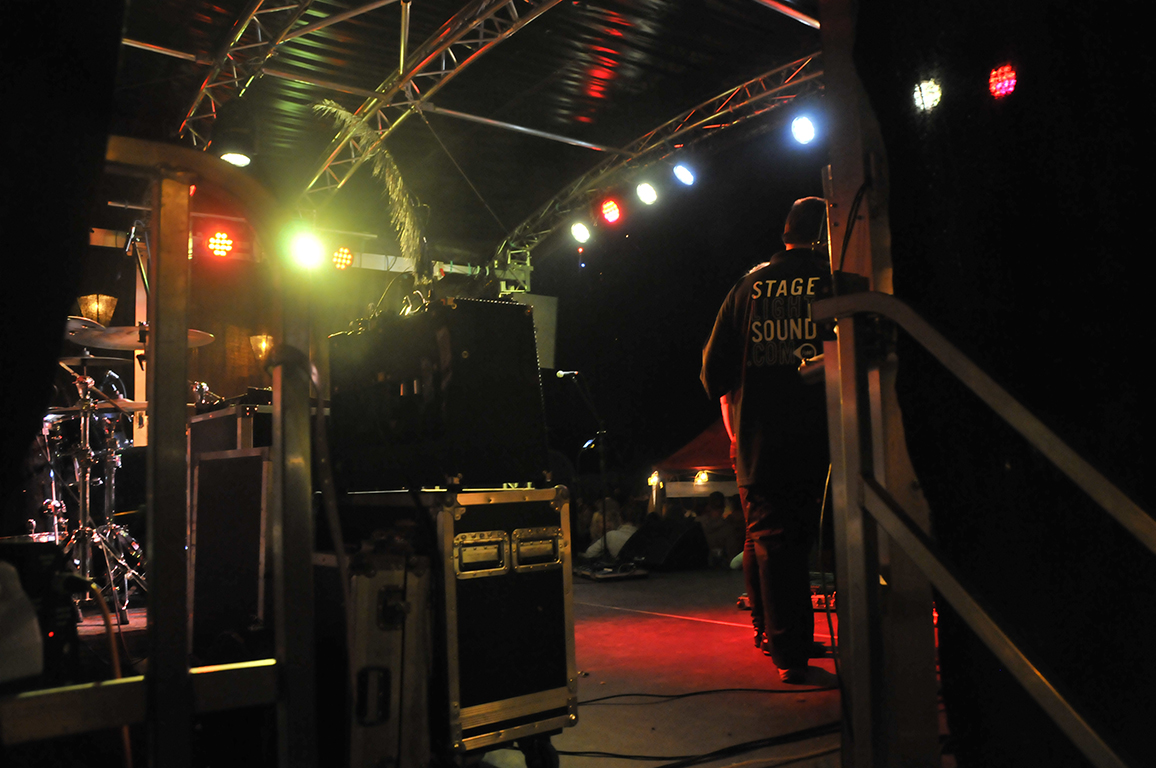 Stage and Lighting Hire Package