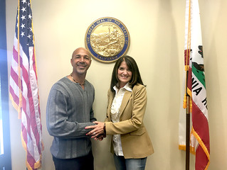 Virgil Meeting with Diane Harkey Chairwoman, Board of Equalization