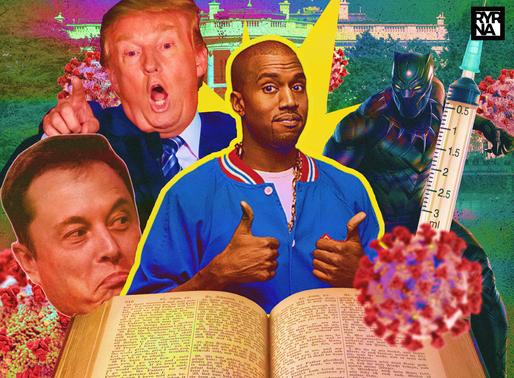 Kanye West a Forbes: las vacunas contienen un chip, su postulación, Elon Musk, Covid y más.