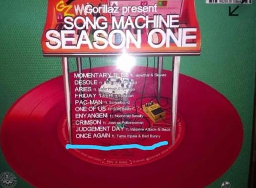 Se filtra el tracklist del nuevo álbum de Gorillaz.