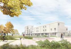public housing project 32 units