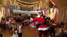 Hire Santa Claus Father Christmas for wedding christening birthday party anniversary