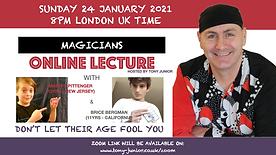 Brice and Matteo Magic Talk