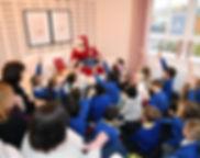 Mr Santa Claus tell a Christmas Story
