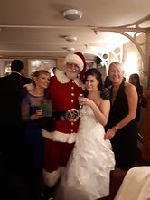Book Mr Santa Claus for your wedding day