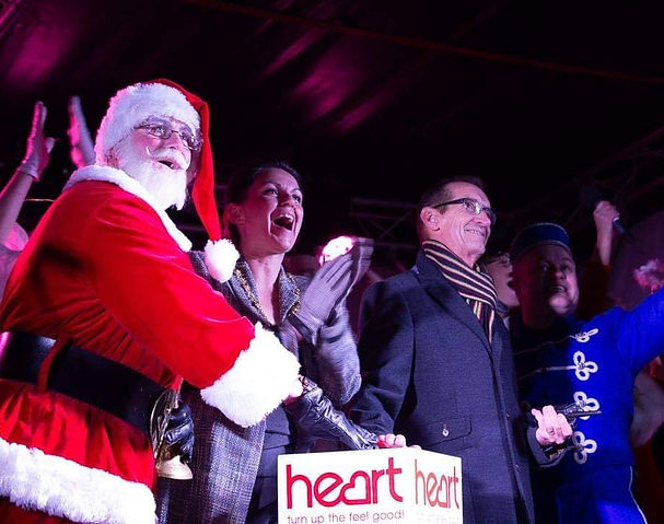 Mr Santa Claus Chistmas Lights Switch On Event