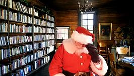 Mr Santa Claus's online visits
