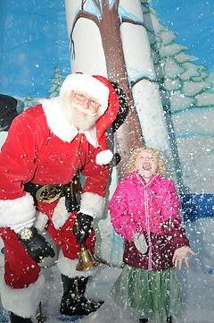 Mr Santa Claus snow globe
