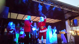 Father Christmas Xmas Lights Switch On