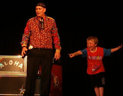 Christening Wedding Childrens Holiday Park Family Cabaret Magic Show