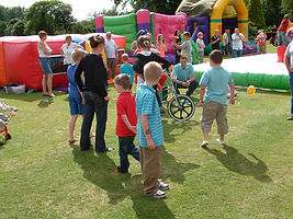 EPIC Events Family Fun Day Event Unrideable Bike