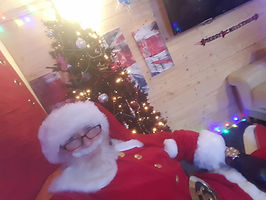 Hire Mr Santa Claus for your garden centre
