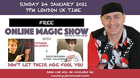 Free Online Magic Show