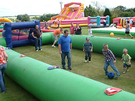 EPIC Events Family Fun Days Inflatable Football Pitch