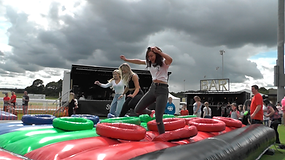 EPIC Events Family Fun Day Events Assault Course & Stage