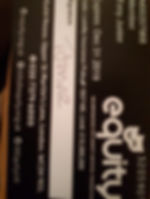 Tony Jnior Equity Card
