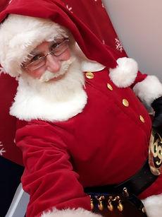 Mr Santa Claus selfie