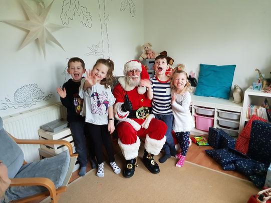 Mr Santa Claus Boxing Day Home Visit