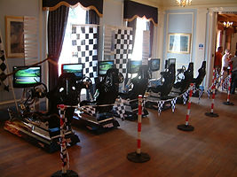 EPIC Events Family Fun Day Driving Simulators