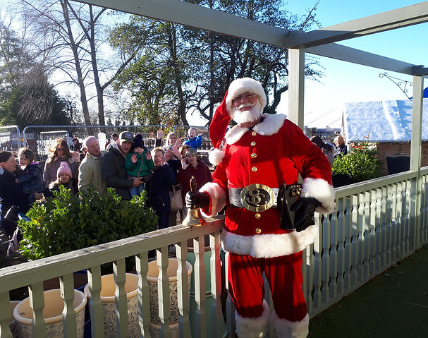 Hire Rent a Santa Claus Hire Father Christmas for your Garden Centre