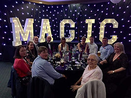 Gala Dinner Magic Event