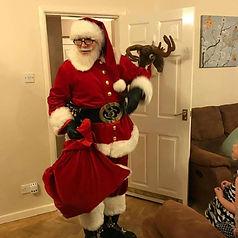 Mr Santa Claus Christmas Eve Home Visit
