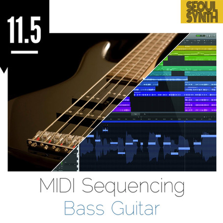 midi sequencing bASS gUITAR