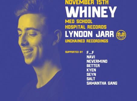 WHINEY[UK] & Lyndon Jarr[AU] 11.15 VOFOL