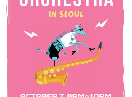 Horse orchestra In seoul