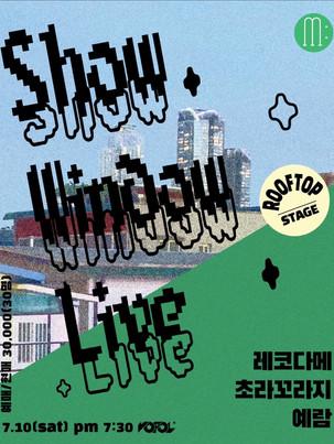 MUSI:UM SHOW WINDOW LIVE  vol.02