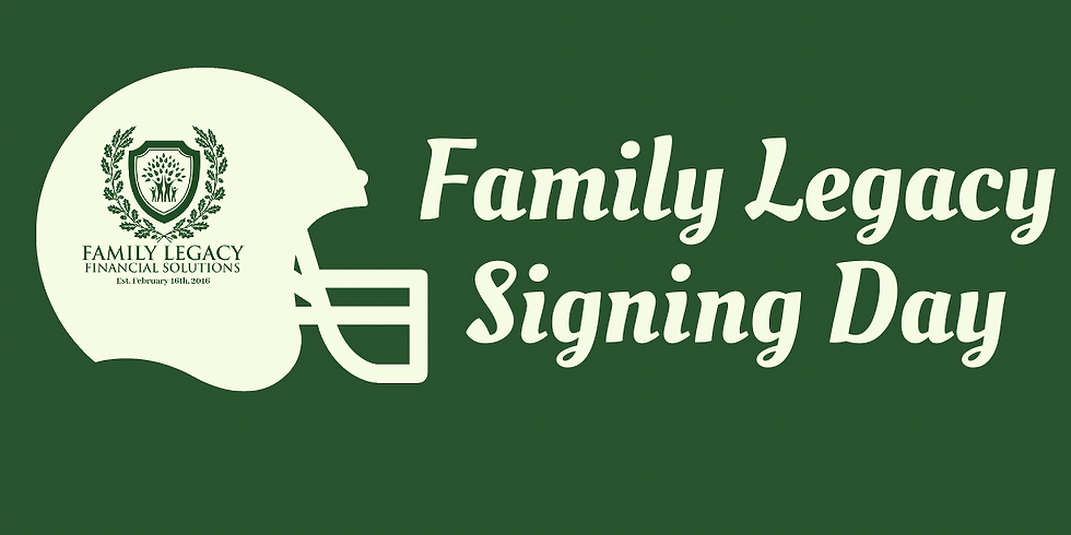 Family Legacy Signing Day
