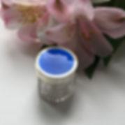 A French Blue Enamel And Silver Dressing Table Jar Circa 1930
