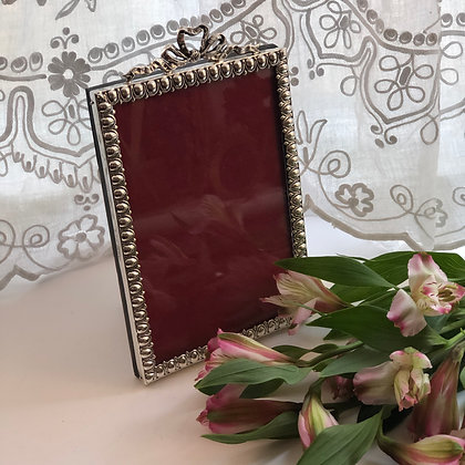 A Late Victorian Silver Picture Frame Birmingham 1897.