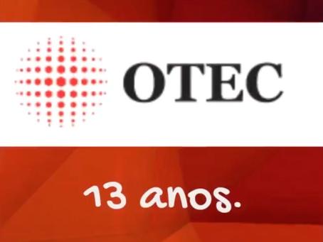 A OTEC completa 13 anos de atividades.