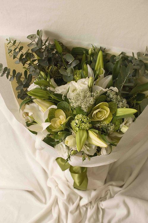 Enchanting Casa Blanca Lilies