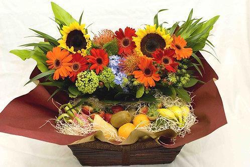 Merry Fruit Basket