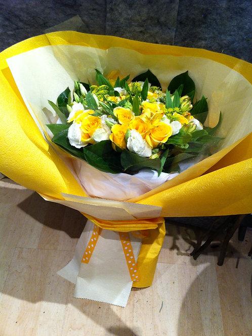 Yellow Roses Garden