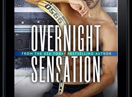 REVIEW: OVERNIGHT SENSATION BY SARINA BOWEN