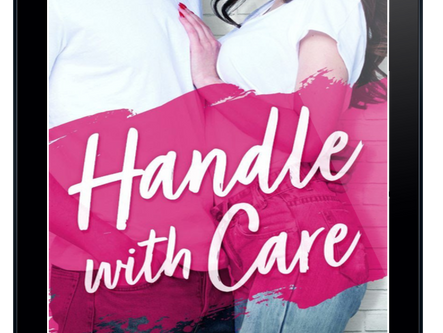 COVER REVEAL + EXCERPT - Handle with Care by Helena Hunting