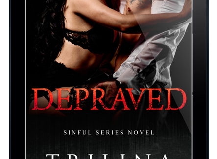 COVER REVEAL: Depraved by Trilina Pucci