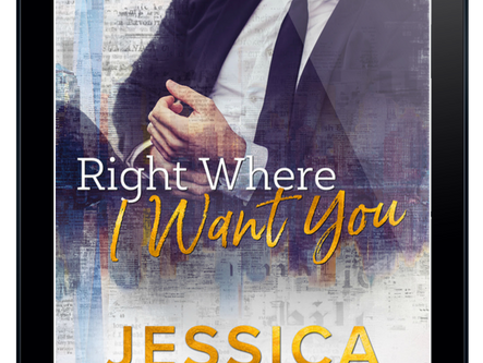 REVIEW: Right Where I Want You by Jessica Hawkins