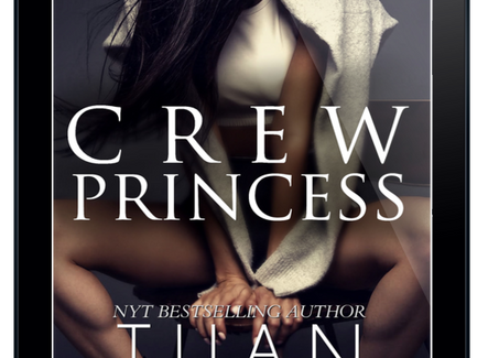 Cover Reveal: Crew Princess by Tijan