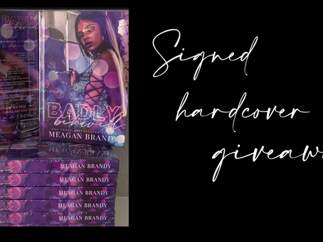 Badly Behaved Giveaway