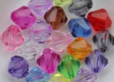 Custom stone elastic waist beads