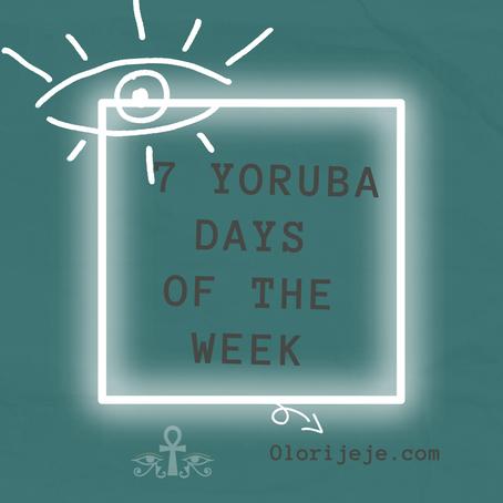 Yoruba days of the week