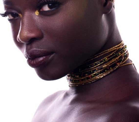 Ewa screw on waist beads
